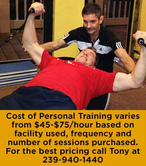 Personal Training, Fort Myers, Cape Coral, Sanibel